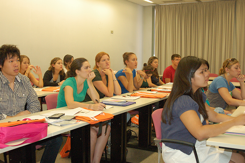 Els voluntaris que aquest any han escollit Barcelona per ampliar els seus estudis