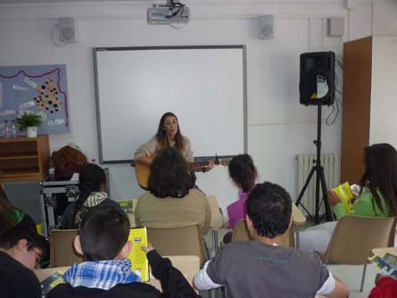 La Beth a l'aula